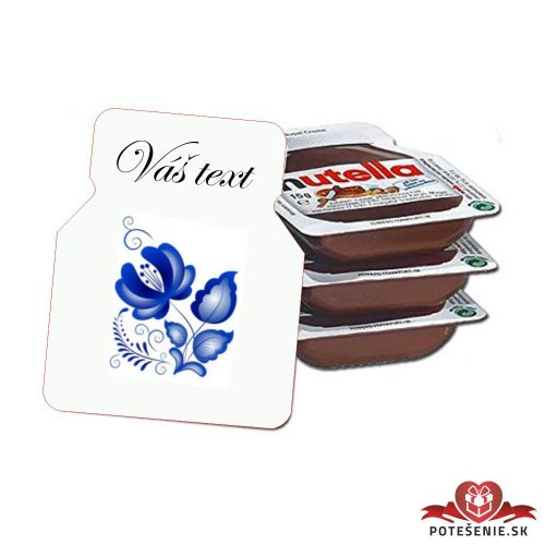 Svadobná mini Nutella, motív S168 - Svadobná Nutella