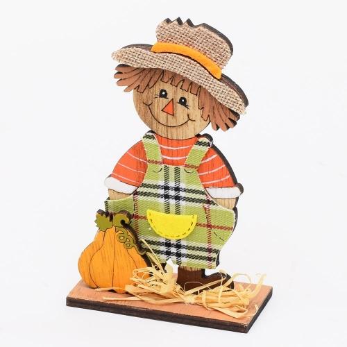 Strašiak - chlapec drevo 8x4x13 cm