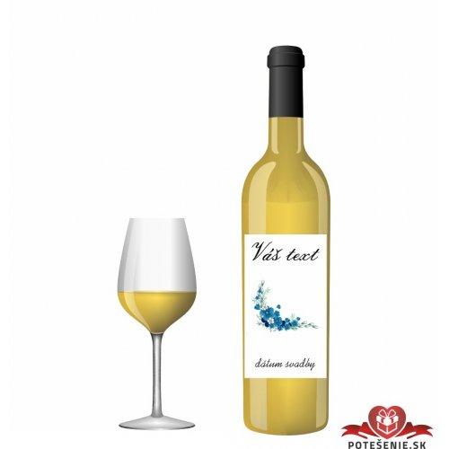 Svadobné víno pre hostí, motív S261