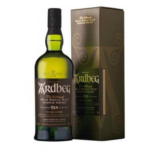 Ardbeg 10 y.o. whisky 46% 1x700 ml - Darčekové fľaše