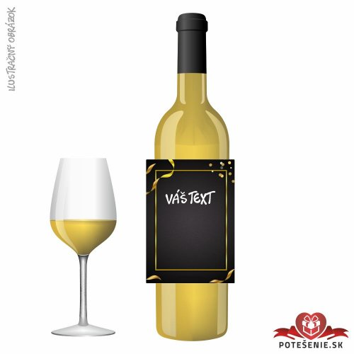 Narodeninové darčekové víno, motív 057