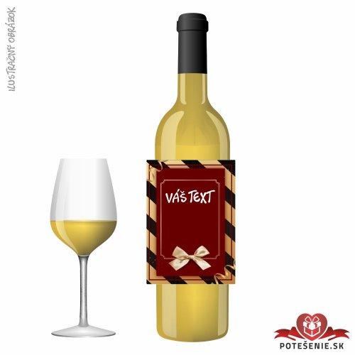 Narodeninové darčekové víno, motív 058 - Darčekové víno na oslavu
