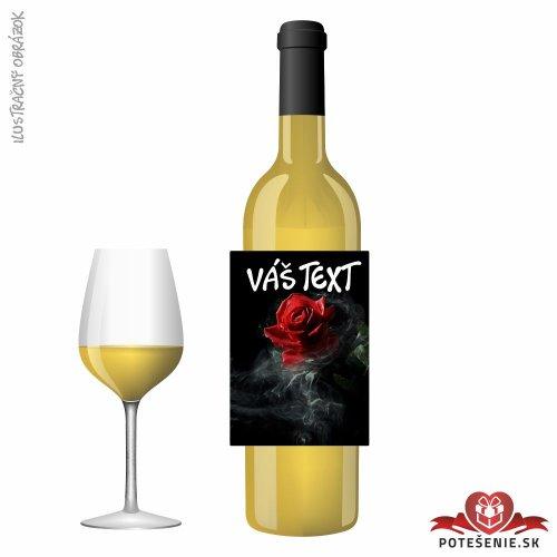Narodeninové darčekové víno, motív 194 - Darčekové víno na oslavu