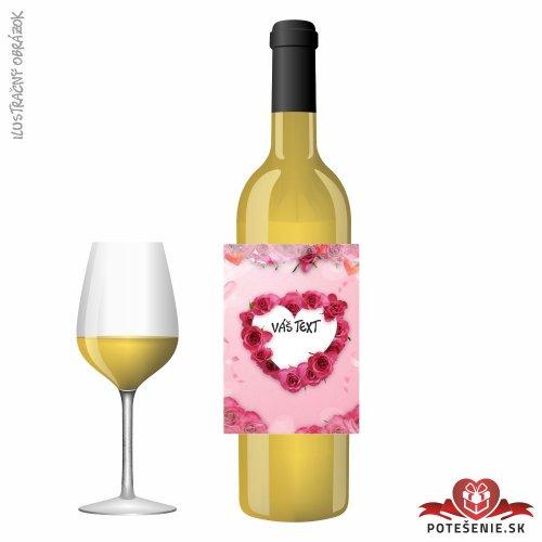 Narodeninové darčekové víno, motív 220 - Darčekové víno na oslavu