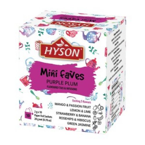 Hyson Purple Plum 20g (10 porcií x 2g)