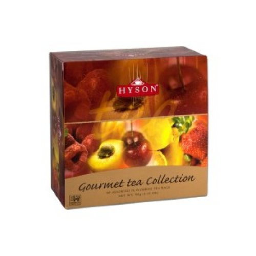 Hyson Gourmet čierna kolekcia 60 porcií