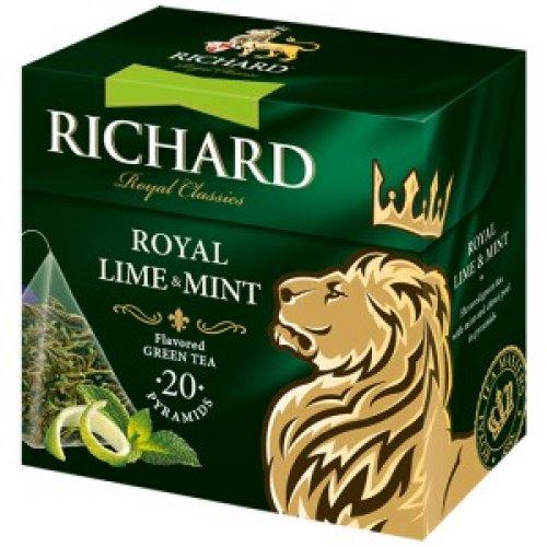 Richard Lime&Mint 34g  (20 pyramíd)