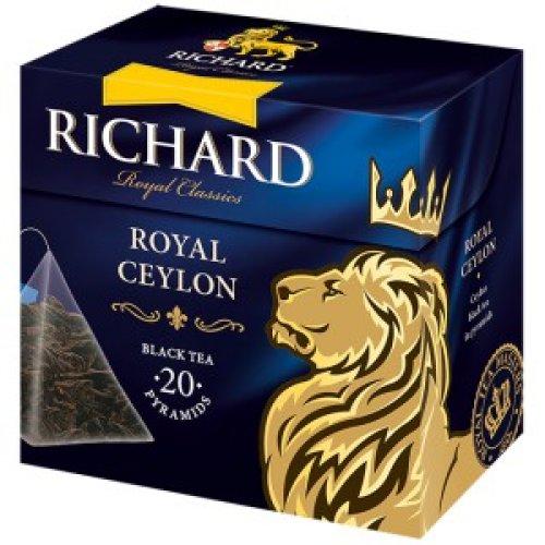 Richard Royal Ceylon 34g  (20 pyramíd)