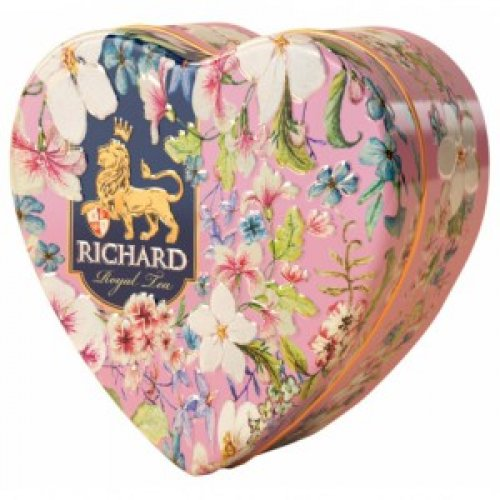 Richard Royal Heart 30g rúžové - Čaje RICHARD