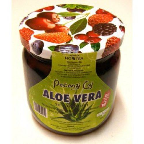 Aloe Vera so zázvorom – objem 0,43l - Pečený čaj 0,43l