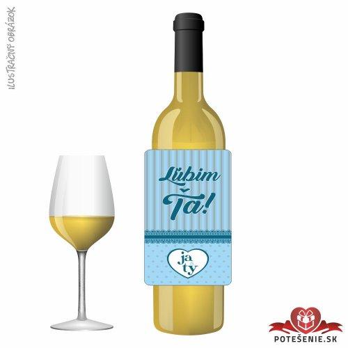 Svadobné víno pre hostí, motív S484