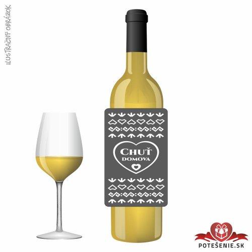 Svadobné víno pre hostí, motív S487