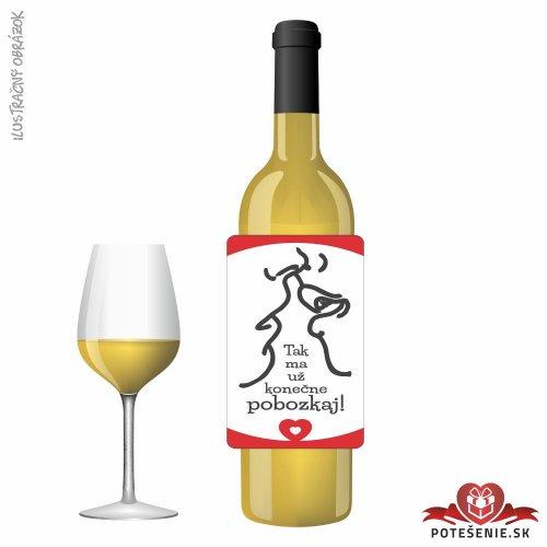 Svadobné víno pre hostí, motív S497