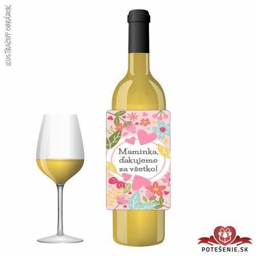 Svadobné víno pre hostí, motív S499