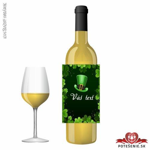 Svadobné víno pre hostí, motív S501