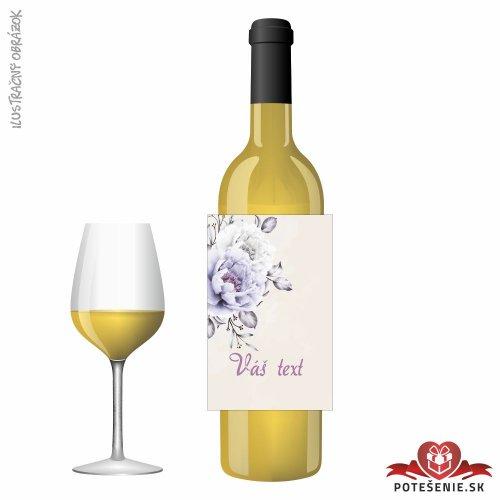 Svadobné víno pre hostí, motív S503