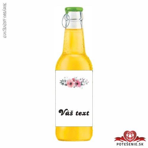 Svadobný ovocný nápoj pre hostí, motív S024