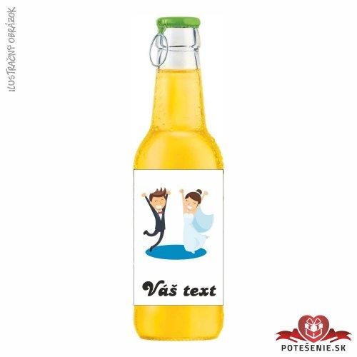 Svadobný ovocný nápoj pre hostí, motív S058