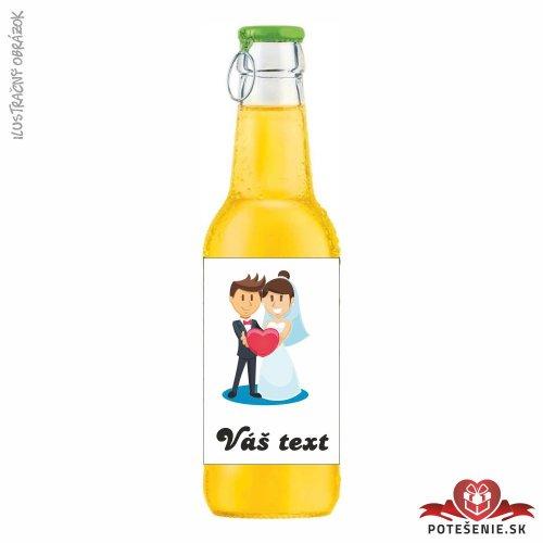 Svadobný ovocný nápoj pre hostí, motív S071