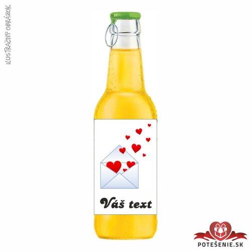 Svadobný ovocný nápoj pre hostí, motív S081