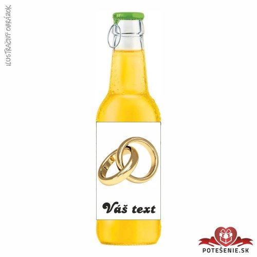Svadobný ovocný nápoj pre hostí, motív S097