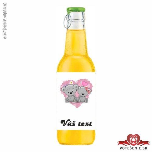 Svadobný ovocný nápoj pre hostí, motív S125 - Svadobný ovocný nápoj