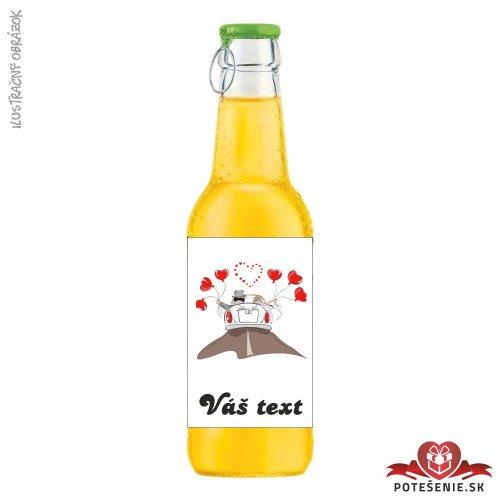 Svadobný ovocný nápoj pre hostí, motív S197