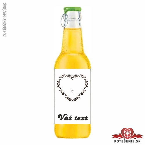 Svadobný ovocný nápoj pre hostí, motív S227