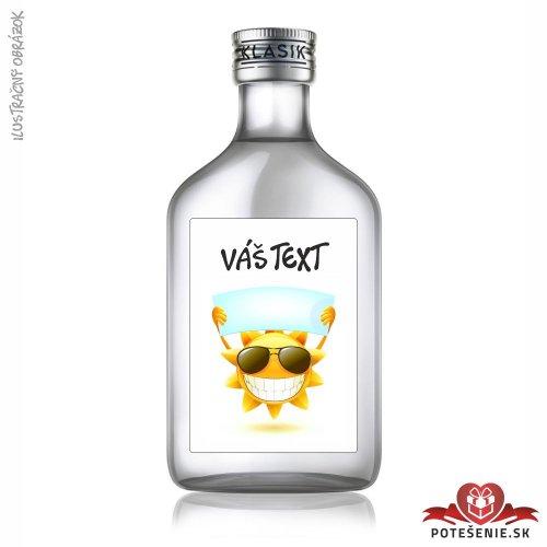 Narodeninová fľaštička s alkoholom, motív N058