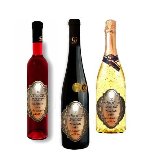 Svadobné darčekové víno - K výročiu svadby