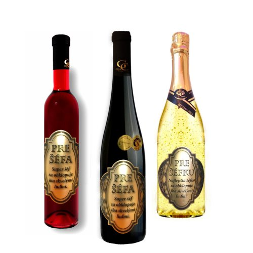 Darčekové víno - Pre šéfa/ šéfku