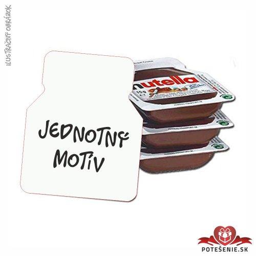Svadobná mini Nutella, jednotný motív - Svadba