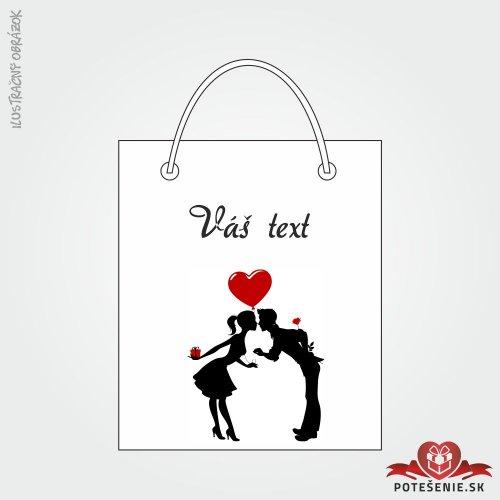 Taška na darček pre svadobných hostí, motív T055