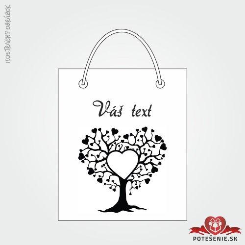 Taška na darček pre svadobných hostí, motív T120