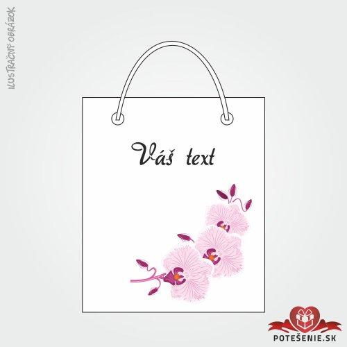 Taška na darček pre svadobných hostí, motív T127