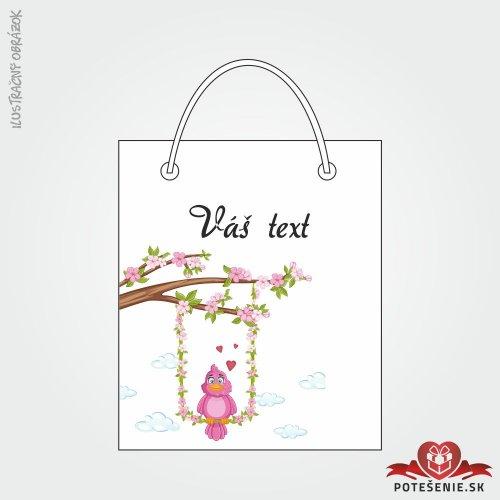 Taška na darček pre svadobných hostí, motív T129