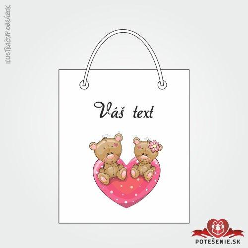 Taška na darček pre svadobných hostí, motív T132