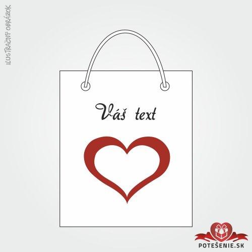 Taška na darček pre svadobných hostí, motív T137