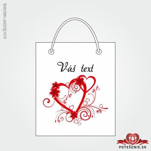 Taška na darček pre svadobných hostí, motív T139