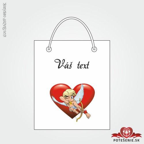 Taška na darček pre svadobných hostí, motív T140