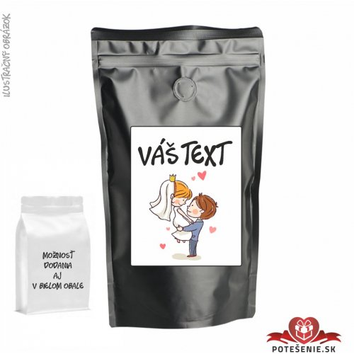 Káva pre svadobných hostí, motív K022