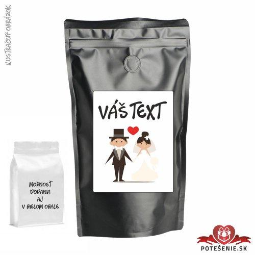 Káva pre svadobných hostí, motív K044