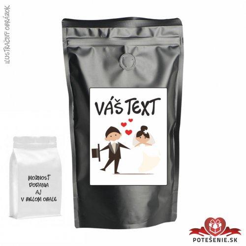 Káva pre svadobných hostí, motív K046 - Svadobná káva