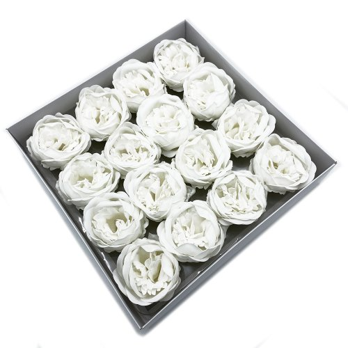 Mydlové Kvety - Pivoňka - Biela - Pivoňka