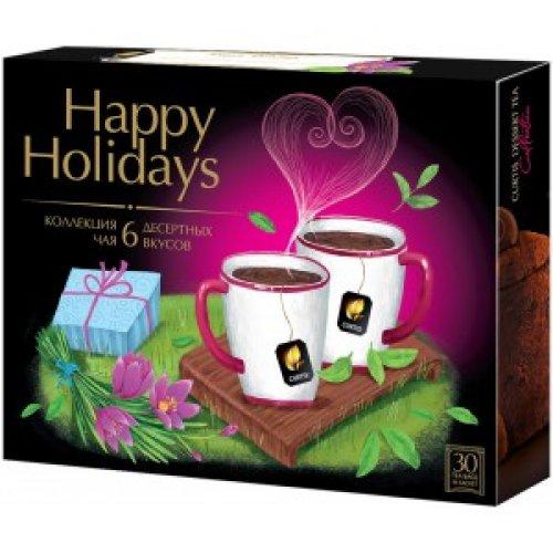 CURTIS Kolekcia Dessert Tea/Happy Holidays 58,5g (30 poricií)