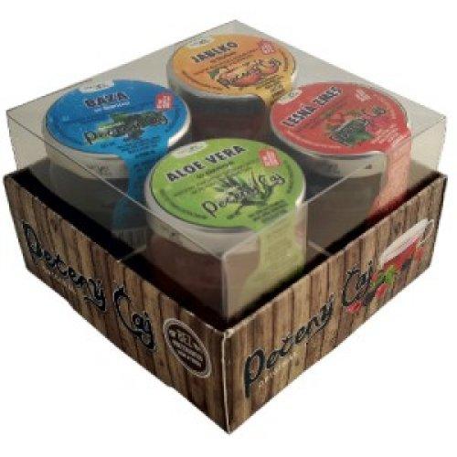 Darčekové balenie pečených čajov 4x60ml - Pečený čaj 60 ml