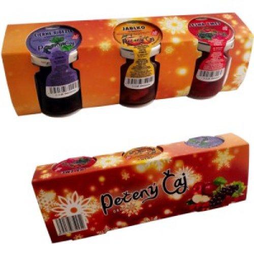 Vianočný Pečený čaj - oranžový 3x60ml - Pečený čaj 60 ml