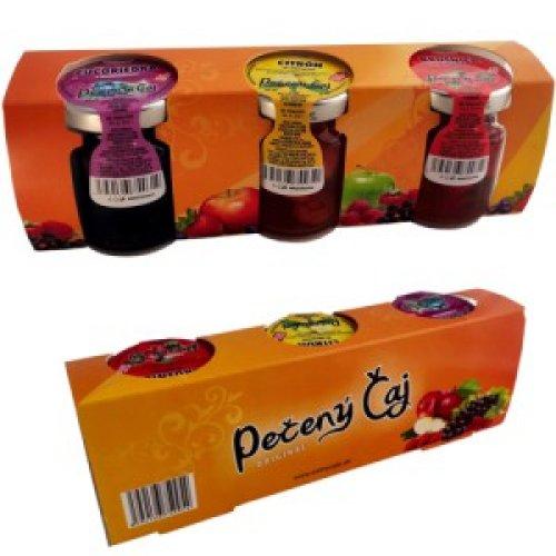 Darčekové balenie 3x60ml Pečený čaj - oranžový - Pečený čaj 60 ml