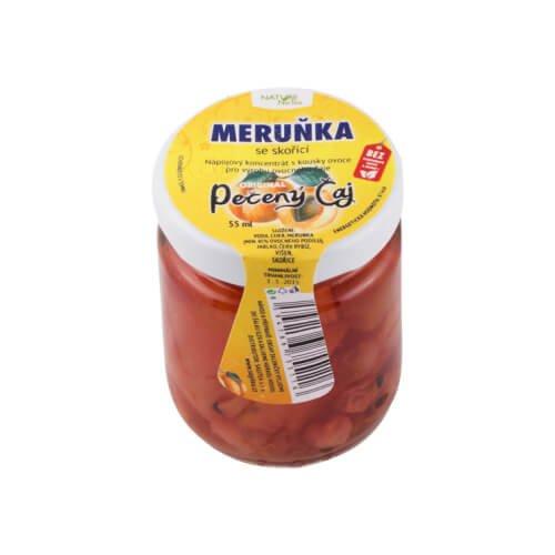 Marhuľa so škoricou 60ml - Pečený čaj 60 ml