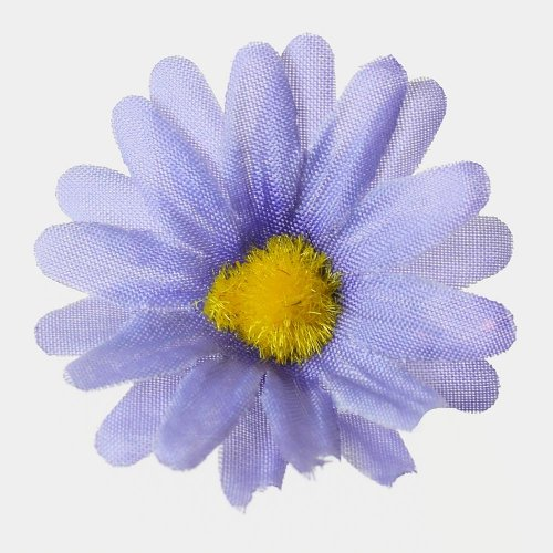 Umelé kvety hlava fialová 4cm